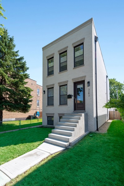 Real Estate Photography - 3243 N Kenneth Ave, Chicago, IL, 60641 - Front View