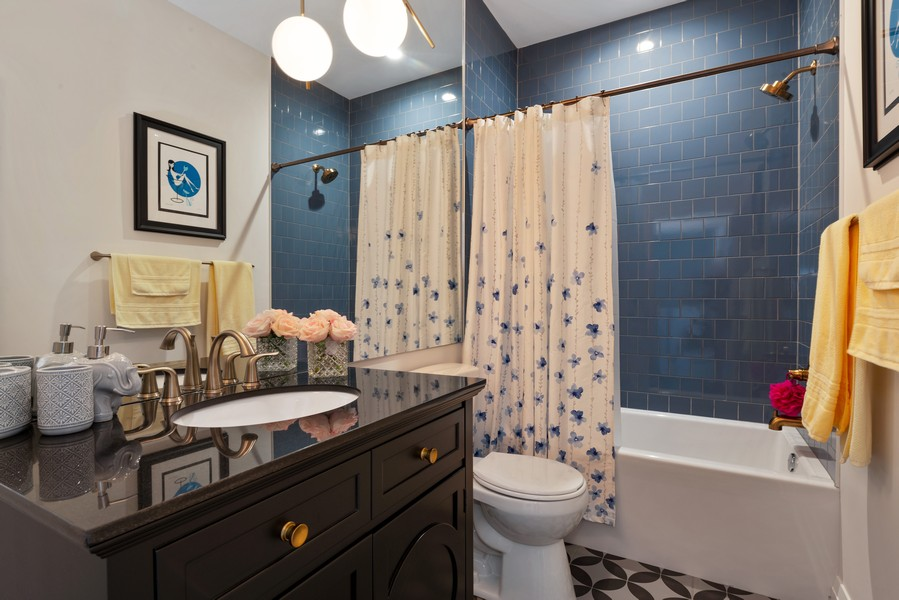 Real Estate Photography - 3243 N Kenneth Ave, Chicago, IL, 60641 - 2nd Bathroom