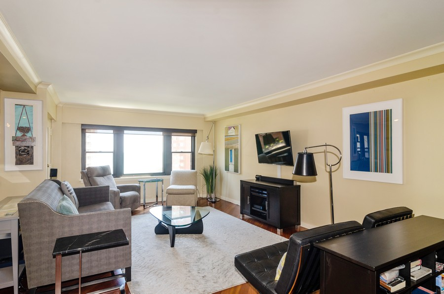 Real Estate Photography - 1350 N. Astor St. #10B, Chicago, IL, 60611 - Living Room