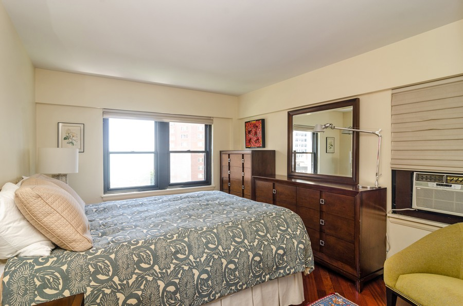 Real Estate Photography - 1350 N. Astor St. #10B, Chicago, IL, 60611 - Master Bedroom