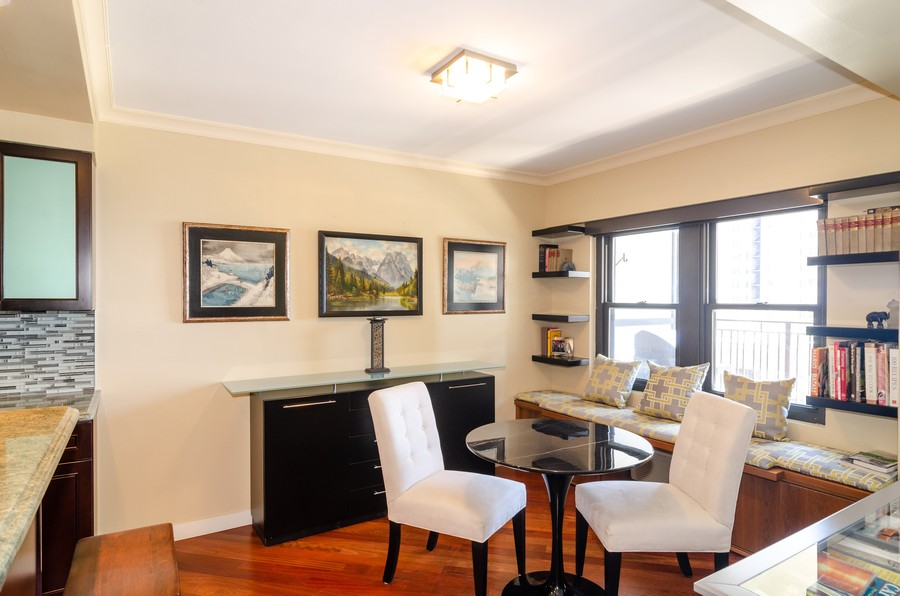 Real Estate Photography - 1350 N. Astor St. #10B, Chicago, IL, 60611 - Dining Room