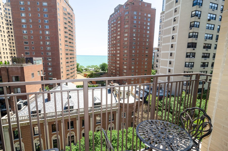 Real Estate Photography - 1350 N. Astor St. #10B, Chicago, IL, 60611 - Balcony