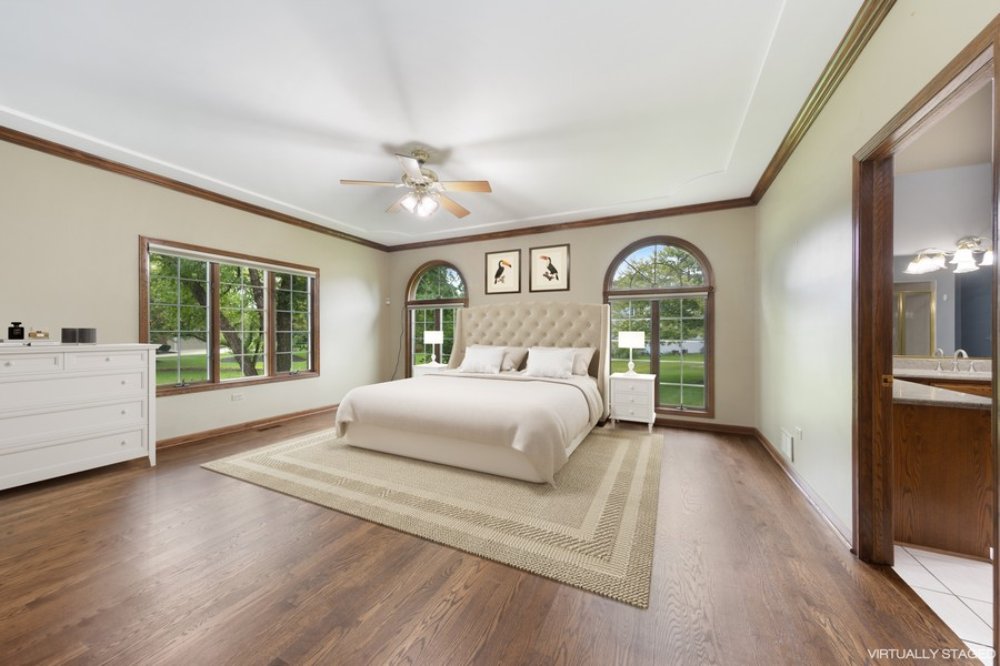 Real Estate Photography - 2272 Sable Oaks Dr, Naperville, IL, 60564 - Master Bedroom