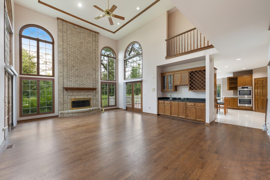 Real Estate Photography - 2272 Sable Oaks Dr, Naperville, IL, 60564 - Family Room