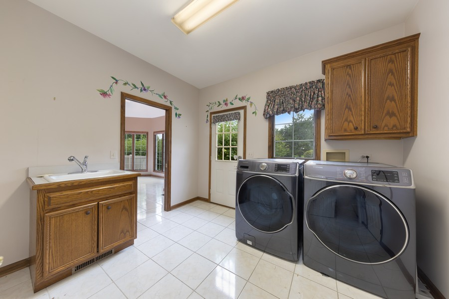 Real Estate Photography - 2272 Sable Oaks Dr, Naperville, IL, 60564 - Laundry Room