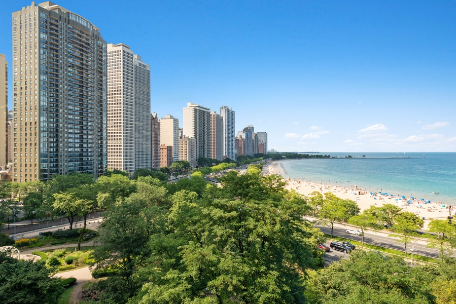 Real Estate Photography - 179 East Lake Shore Drive, Apt 801, Chicago, IL, 60611 - View