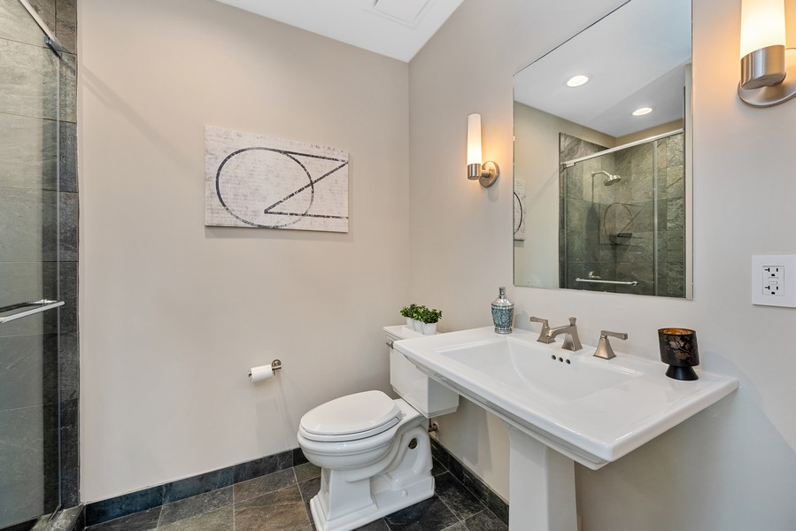 Real Estate Photography - 401 N Wabash Avenue, 83D, Chicago, IL, 60611 - 4th Bathroom