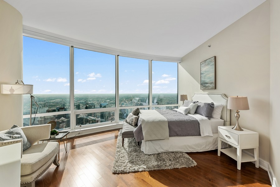 Real Estate Photography - 401 N Wabash Avenue, 83D, Chicago, IL, 60611 - 2nd Bedroom