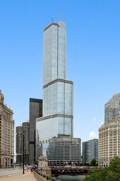 Real Estate Photography - 401 N Wabash Avenue, 83D, Chicago, IL, 60611 - Front View