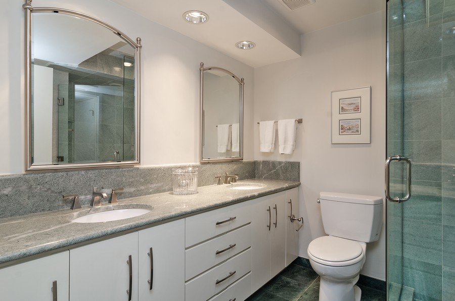 Real Estate Photography - 1515 N Astor, Unit 8BC, Chicago, IL, 60610 - Master Bathroom