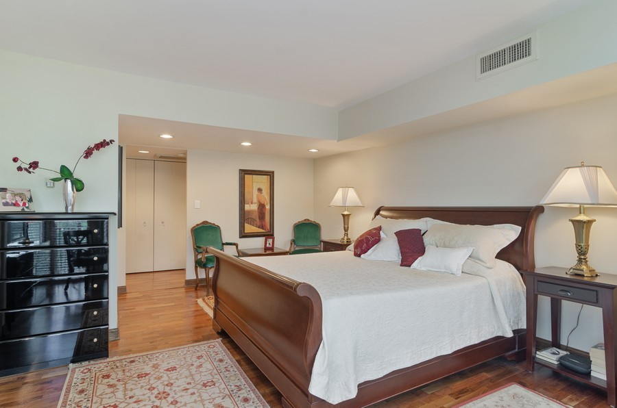 Real Estate Photography - 1515 N Astor, Unit 8BC, Chicago, IL, 60610 - Master Bedroom