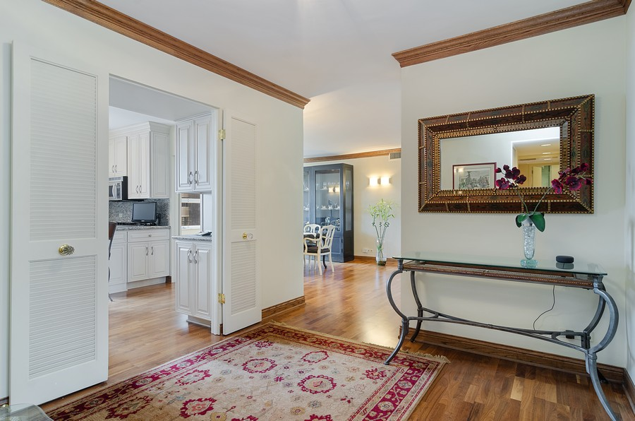 Real Estate Photography - 1515 N Astor, Unit 8BC, Chicago, IL, 60610 - Foyer