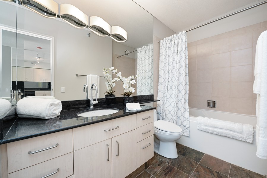 Real Estate Photography - 512 N McClurg Ct, 4505, Chicago, IL, 60611 - Bathroom
