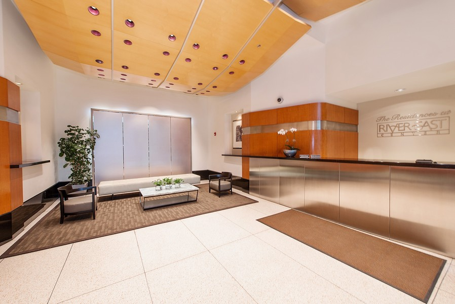 Real Estate Photography - 512 N McClurg Ct, 4505, Chicago, IL, 60611 - Lobby