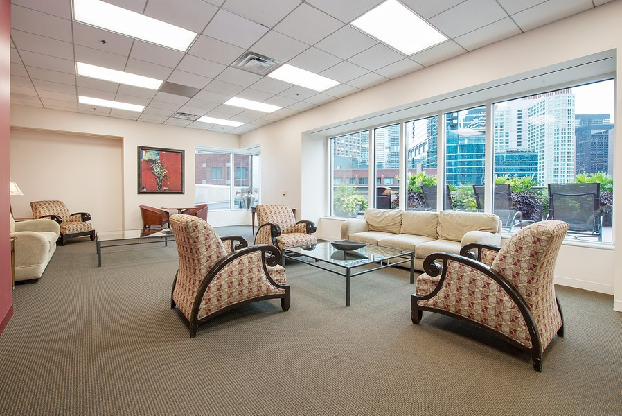 Real Estate Photography - 512 N McClurg Ct, 4505, Chicago, IL, 60611 - Entertainment Suite