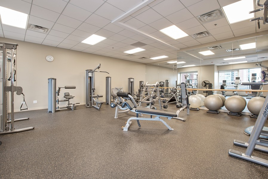 Real Estate Photography - 512 N McClurg Ct, 4505, Chicago, IL, 60611 - Exercise Room
