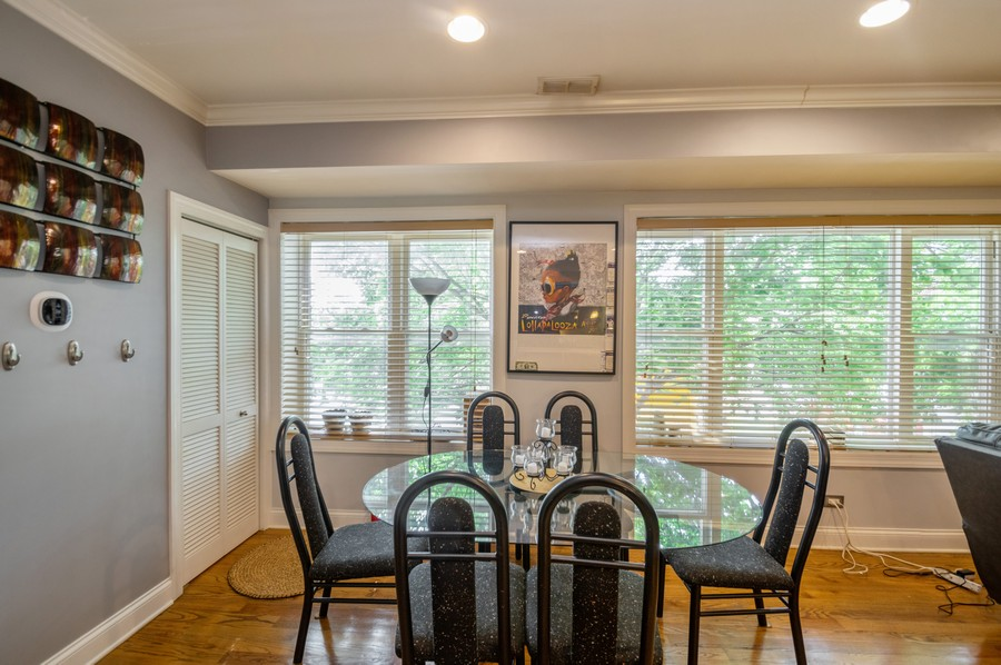 Real Estate Photography - 5300 N Kedzie, #1, Chicago, IL, 60625 - Dining Area
