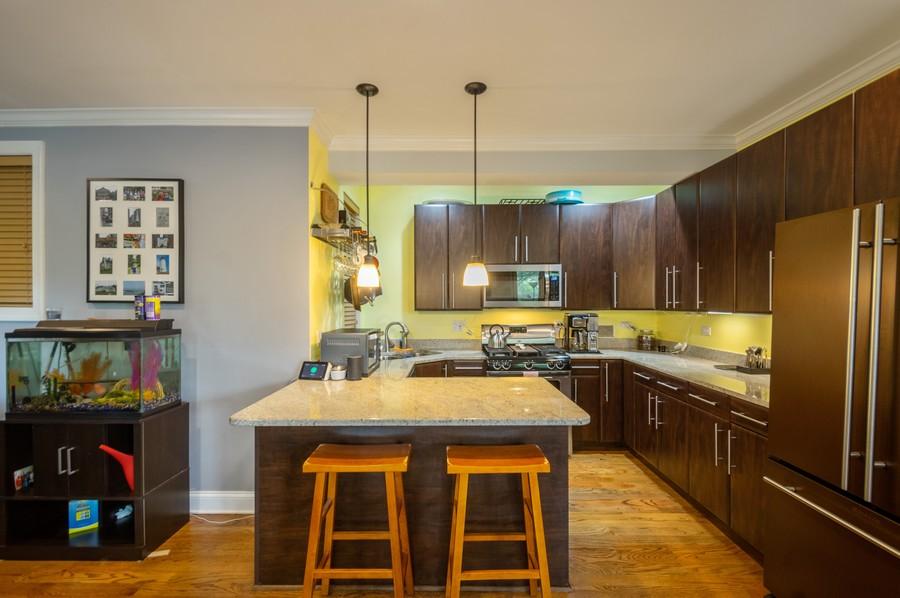 Real Estate Photography - 5300 N Kedzie, #1, Chicago, IL, 60625 - Kitchen