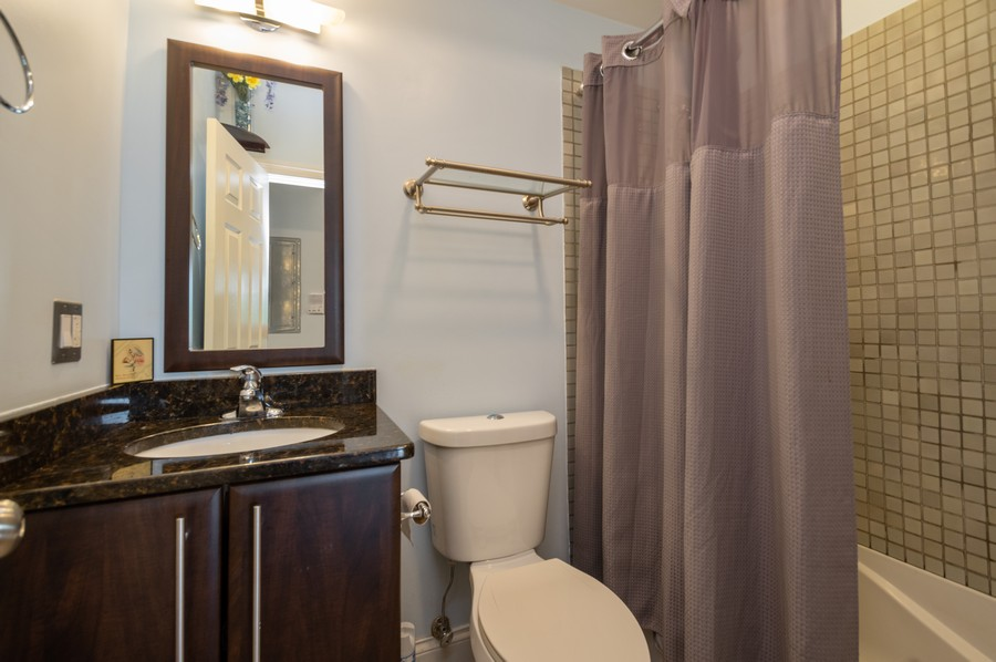 Real Estate Photography - 5300 N Kedzie, #1, Chicago, IL, 60625 - 2nd Bathroom