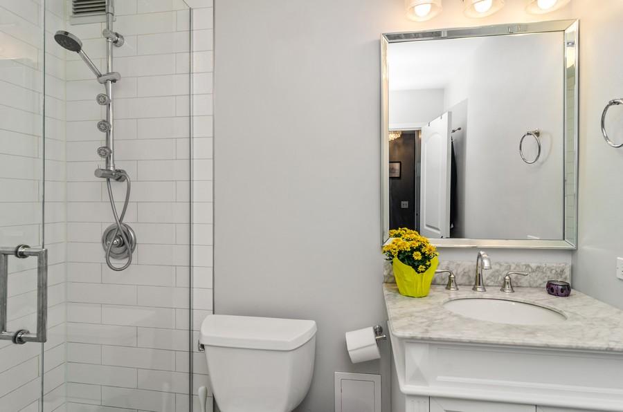 Real Estate Photography - 1555 Sandburg Terrace, Unit 310, Chicago, IL, 60610 - Bathroom