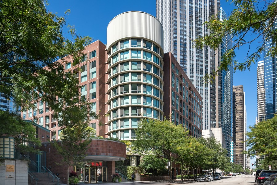 Real Estate Photography - 480 N McClurg Ct, 820, Chicago, IL, 60611 - Front View
