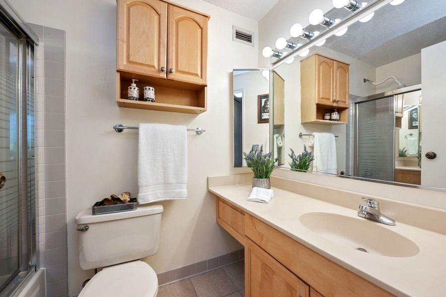 Real Estate Photography - 480 N McClurg Ct, 820, Chicago, IL, 60611 - 2nd Bathroom