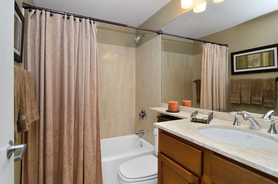 Real Estate Photography - 350 W Belden, Unit 406, Chicago, IL, 60614 - Bathroom