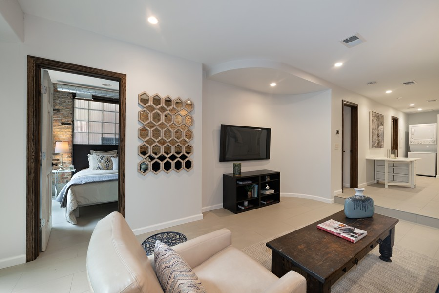 Real Estate Photography - 1234 N Dearborn St, Unit GR, Chicago, IL, 60610 - GR living room