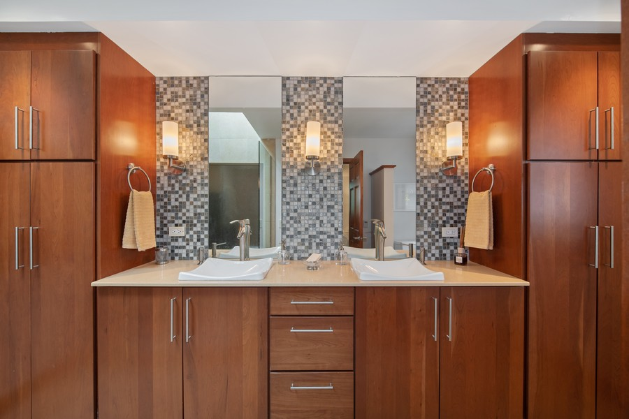 Real Estate Photography - 1234 N Dearborn St, Unit CH, Chicago, IL, 60610 - Master Bathroom vanity
