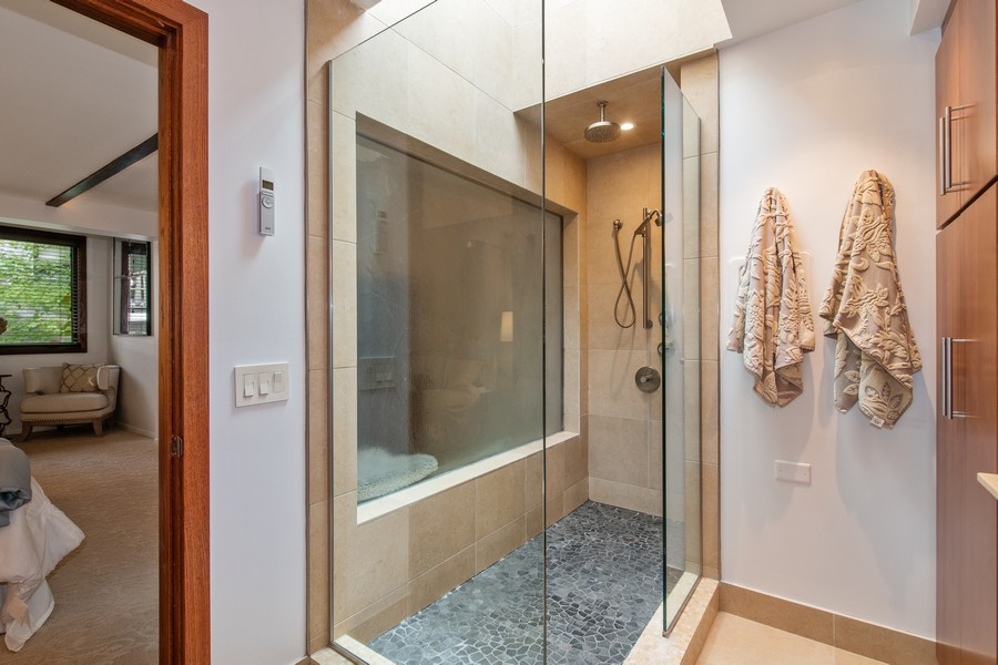 Real Estate Photography - 1234 N Dearborn St, Unit CH, Chicago, IL, 60610 - Master Bathroom