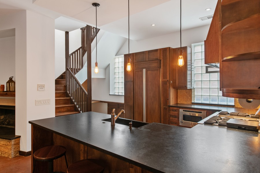 Real Estate Photography - 1234 N Dearborn St, Unit CH, Chicago, IL, 60610 - Kitchen