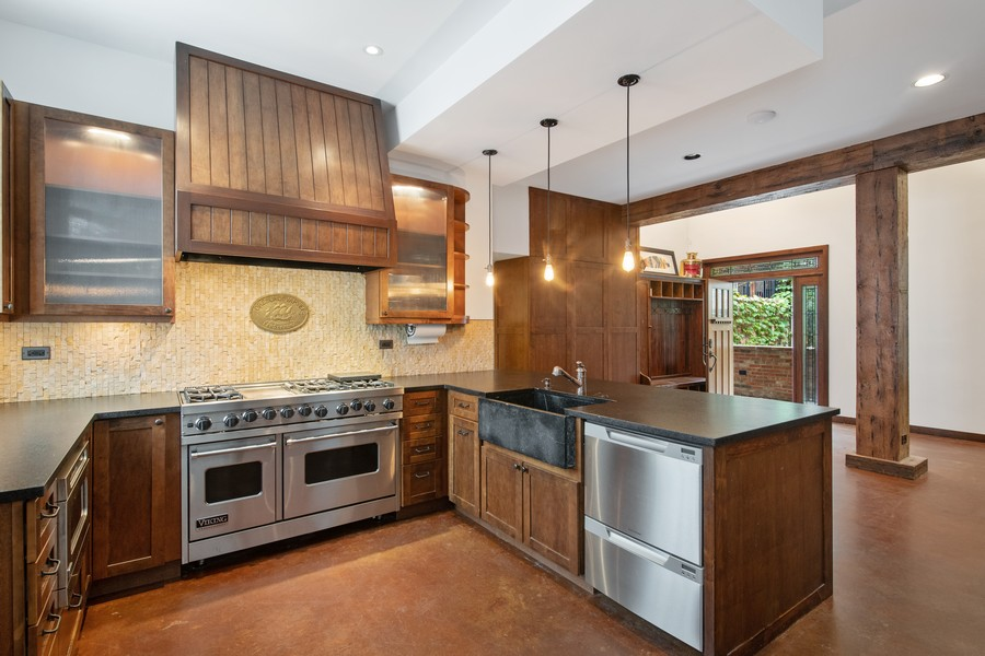 Real Estate Photography - 1234 N Dearborn St, Unit CH, Chicago, IL, 60610 - Kitchen 2