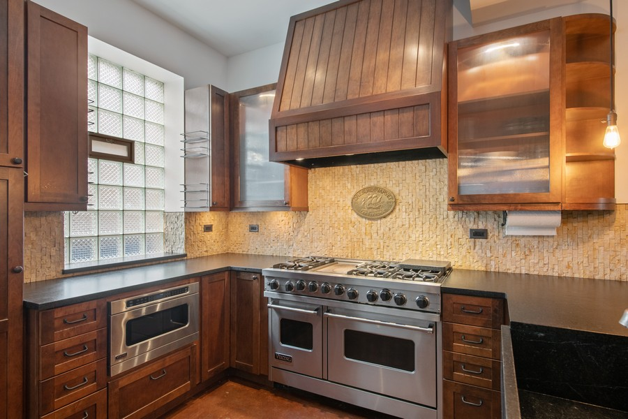 Real Estate Photography - 1234 N Dearborn St, Unit CH, Chicago, IL, 60610 - Kitchen 3