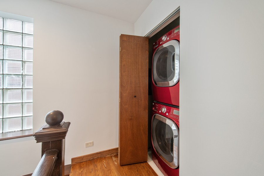Real Estate Photography - 1234 N Dearborn St, Unit CH, Chicago, IL, 60610 - Laundry Room
