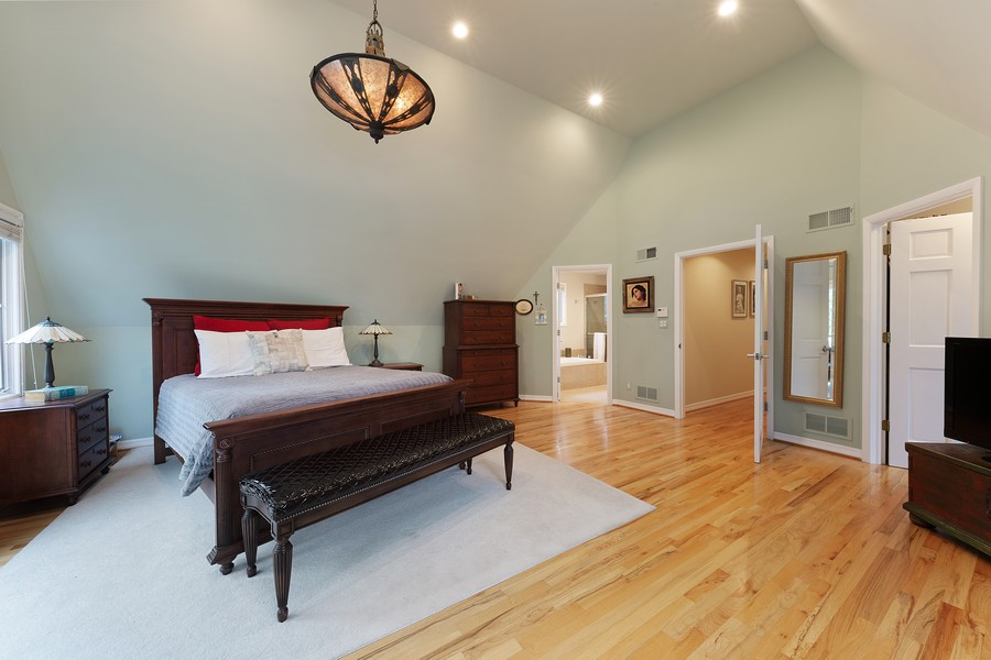 Real Estate Photography - 120 S. Stone, LaGrange, IL, 60525 - Master Bedroom