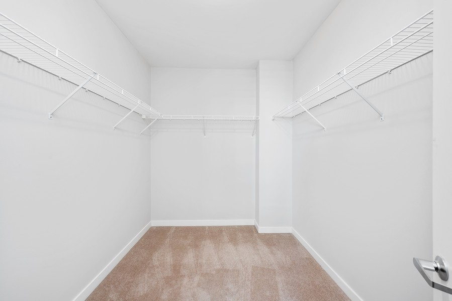 Real Estate Photography - 1160 S Michigan Ave, Unit 3304, Chicago, IL, 60605 - Master Bedroom Closet