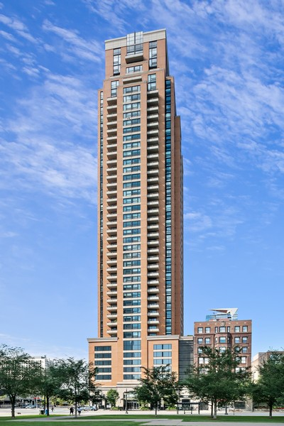 Real Estate Photography - 1160 S Michigan Ave, Unit 3304, Chicago, IL, 60605 -