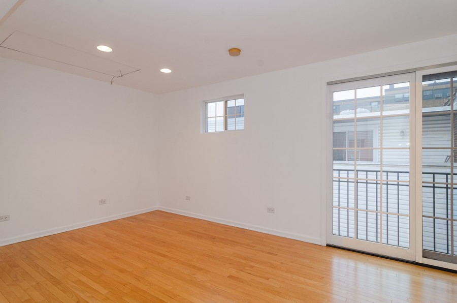 Real Estate Photography - 1844 N Mohawk St, Unit A, Chicago, IL, 60614 - Master Bedroom