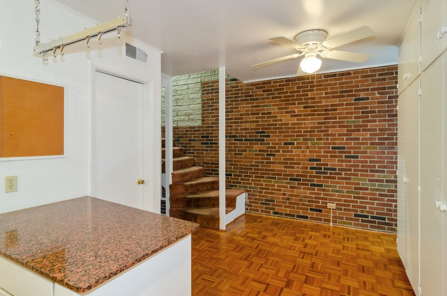 Real Estate Photography - 1844 N Mohawk St, Unit A, Chicago, IL, 60614 - Dining Area