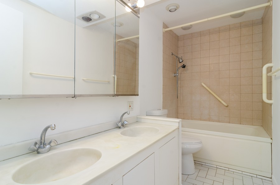 Real Estate Photography - 1844 N Mohawk St, Unit A, Chicago, IL, 60614 - Bathroom