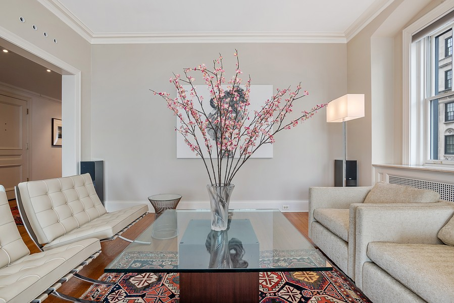 Real Estate Photography - 1448 N Lakeshore Dr, Apt 3B, Chicago, IL, 60610 - Living Room