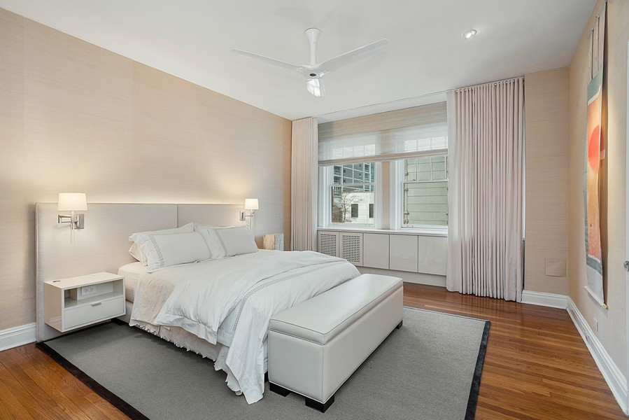 Real Estate Photography - 1448 N Lakeshore Dr, Apt 3B, Chicago, IL, 60610 - Master Bedroom
