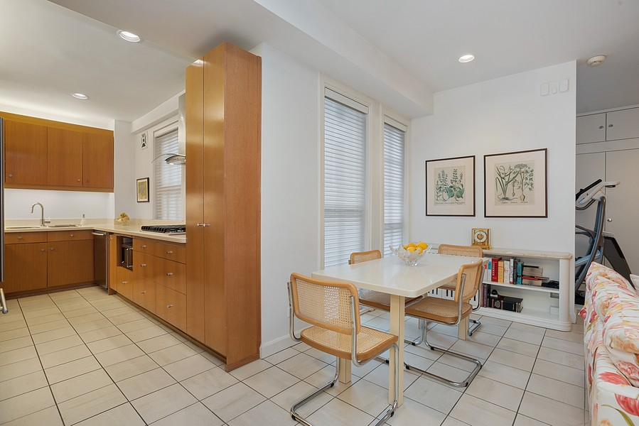 Real Estate Photography - 1448 N Lakeshore Dr, Apt 3B, Chicago, IL, 60610 - Kitchen / Breakfast Room