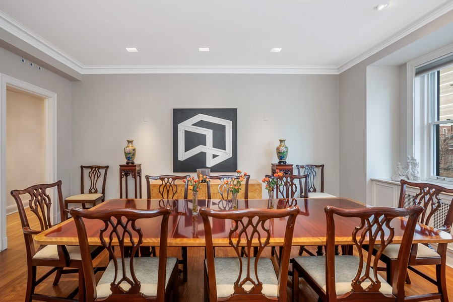 Real Estate Photography - 1448 N Lakeshore Dr, Apt 3B, Chicago, IL, 60610 - Dining Room