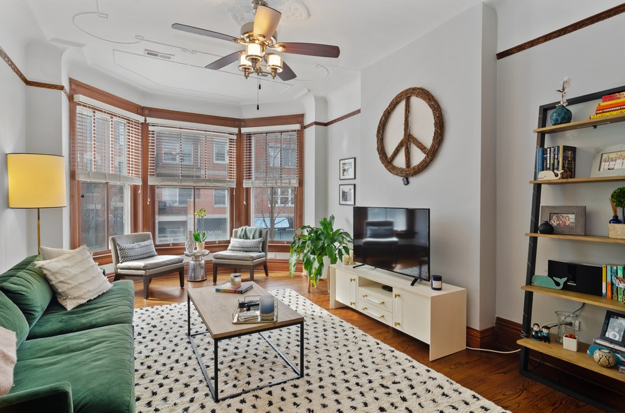 Real Estate Photography - 2221 N Lincoln Ave, Chicago, IL, 60614 - Living Room