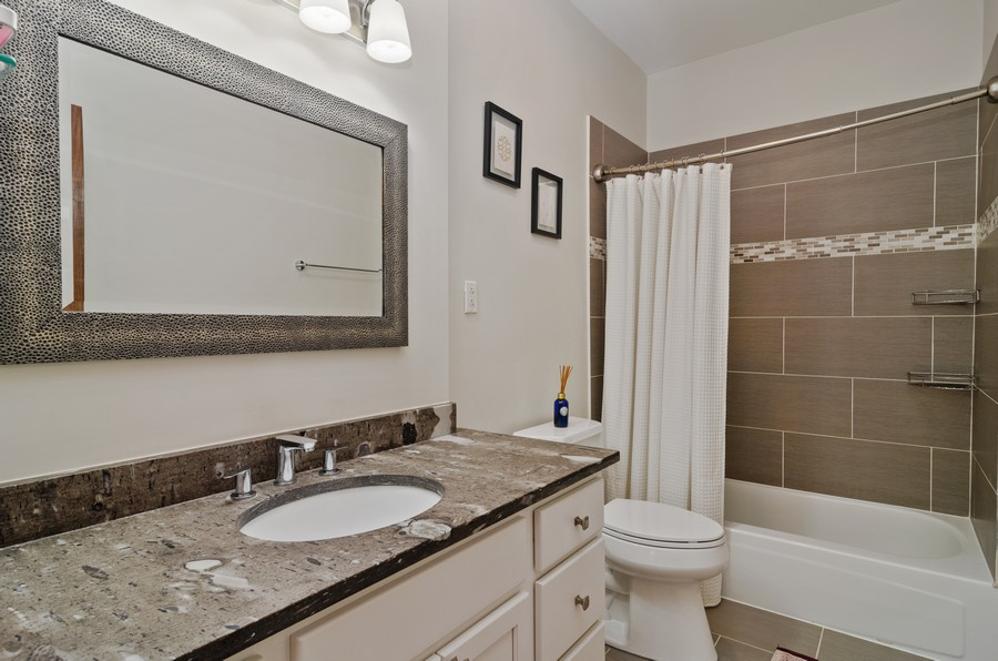 Real Estate Photography - 2221 N Lincoln Ave, Chicago, IL, 60614 - Master Bathroom