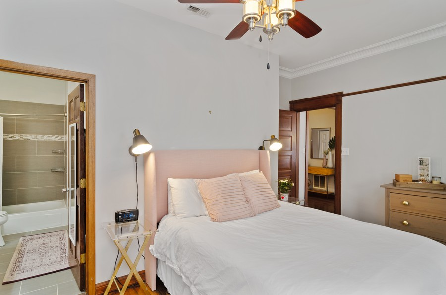 Real Estate Photography - 2221 N Lincoln Ave, Chicago, IL, 60614 - Master Bedroom