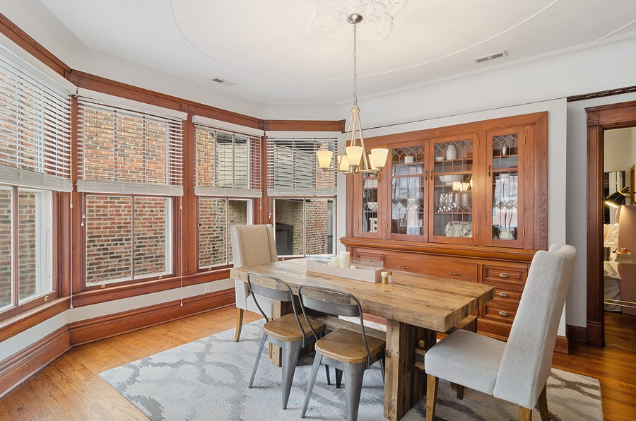 Real Estate Photography - 2221 N Lincoln Ave, Chicago, IL, 60614 - Dining Room