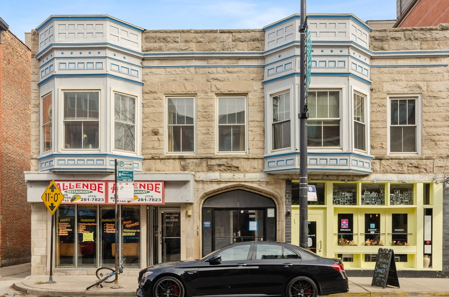Real Estate Photography - 2221 N Lincoln Ave, Chicago, IL, 60614 - Front View