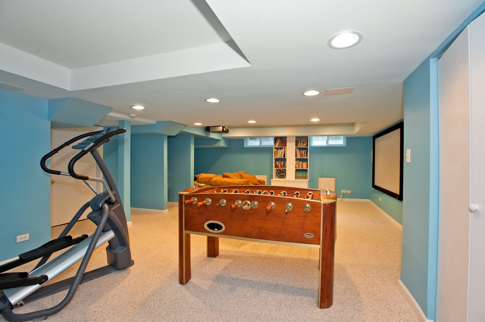 Real Estate Photography - 1161 Laurel, Winnetka, IL, 60093 - Play / Recreational Room